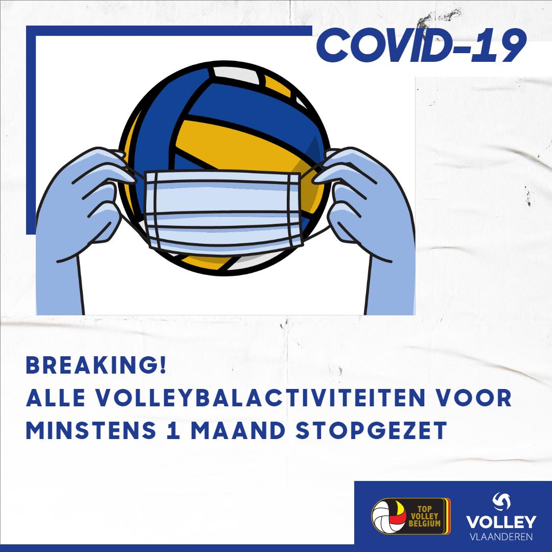 Nieuwe corona – richtlijnen voor het volleybal: code oranje
